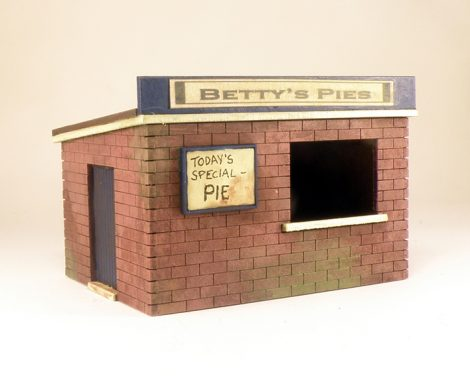 Bettys Pie Hut - wargaming scenic