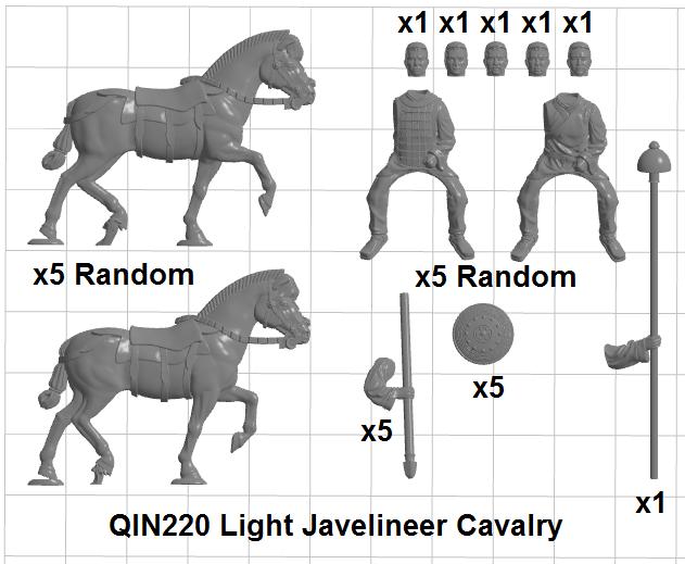 Light Cavalry w Javelins